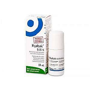 Hyabak Hypotonic 0.15% Dry Eye Artificial Tears Lubricant