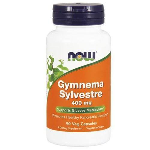 Now Foods Gymnema Sylvestre Supplement - 90 Veggie Caps