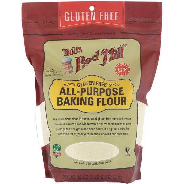 Bobs Red Mill Gluten Free Baking Flour, All-Purpose - 22 oz