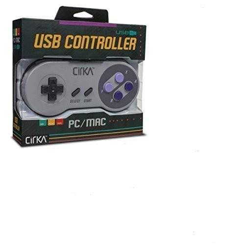 Cirka S91 Premium Snes Usb Controller For Pc & mac