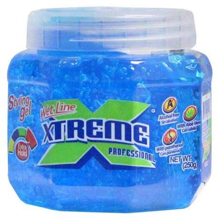 Xtreme Professional Wet Line Styling Gel - Extra Hold, Blue, 15.75oz