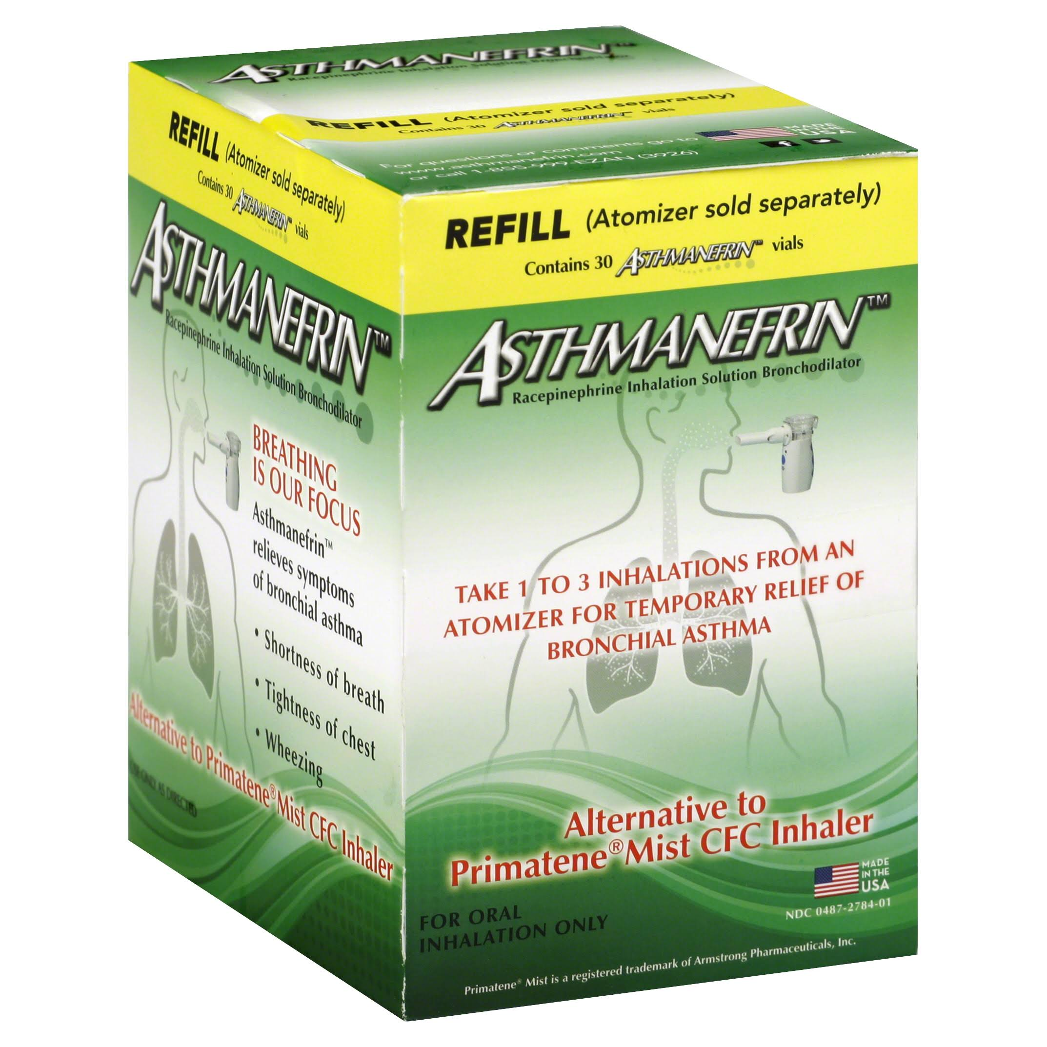 Asthmanefrin Asthma Medication Refill Vials - x30