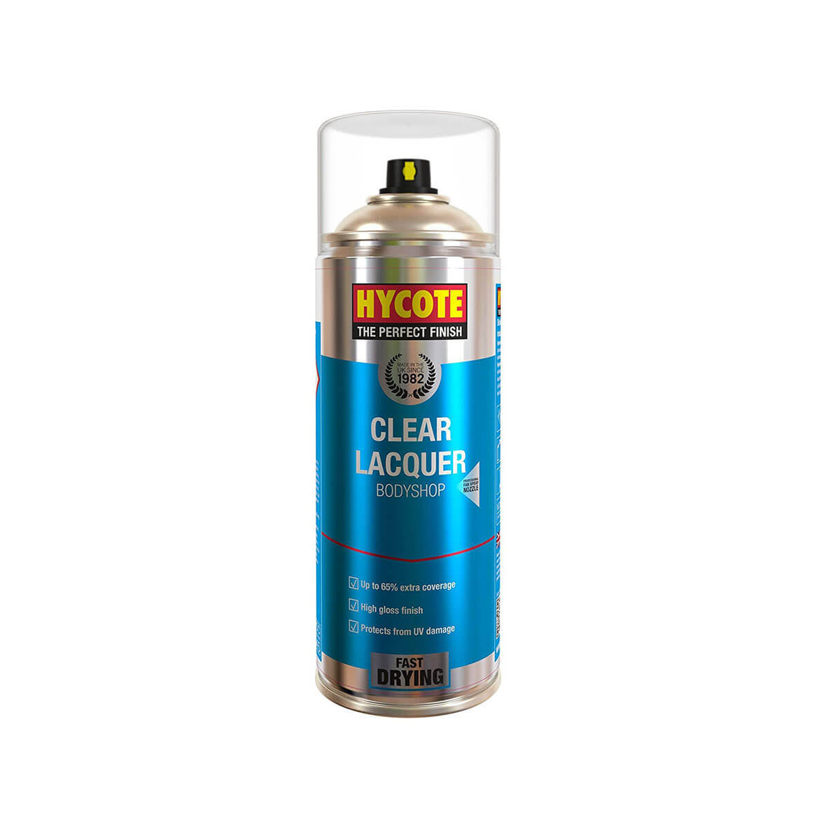 Hycote Clear Lacquer Spray Paint - 400ml