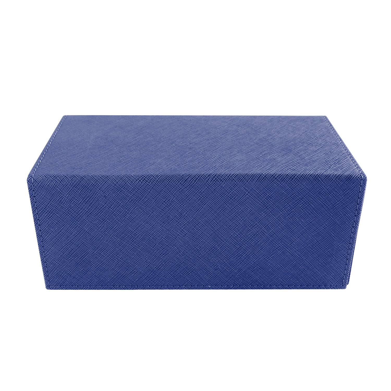 Dex Creation Line Deck Box - Large (Dark Blue)