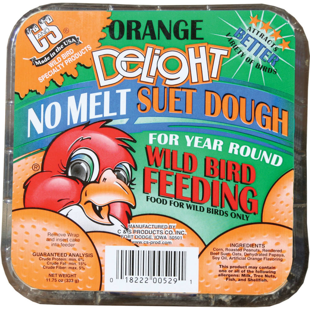 C&S Orange Delight Wild Bird Feeding