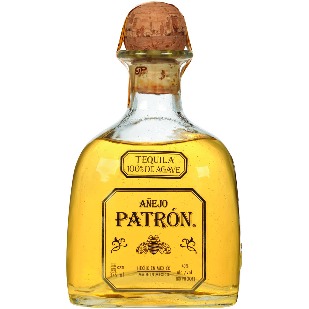 Patron Anejo Agave Tequila - 0.375l