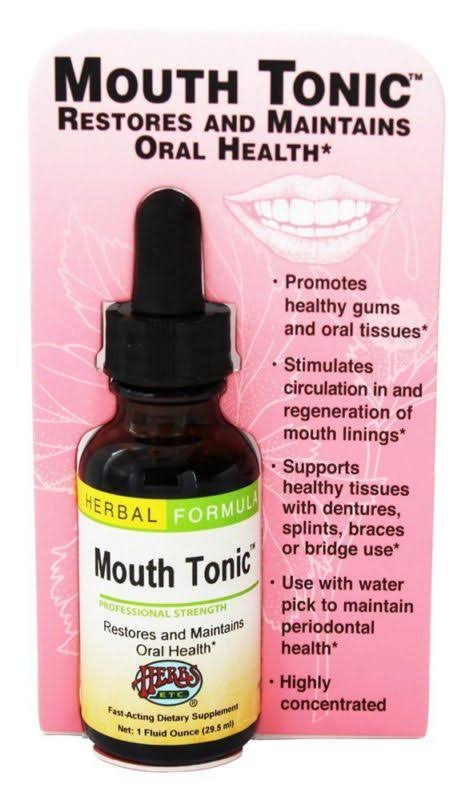 Mouth Tonic Herbs