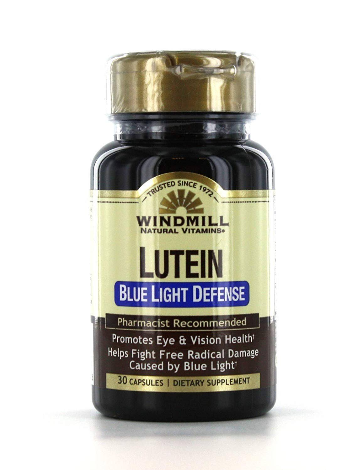 Windmill Lutein Blue Light Defense Capsules 30 EA