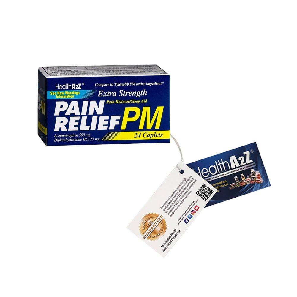Health A2z Extra Strength Pain Relief - 24ct