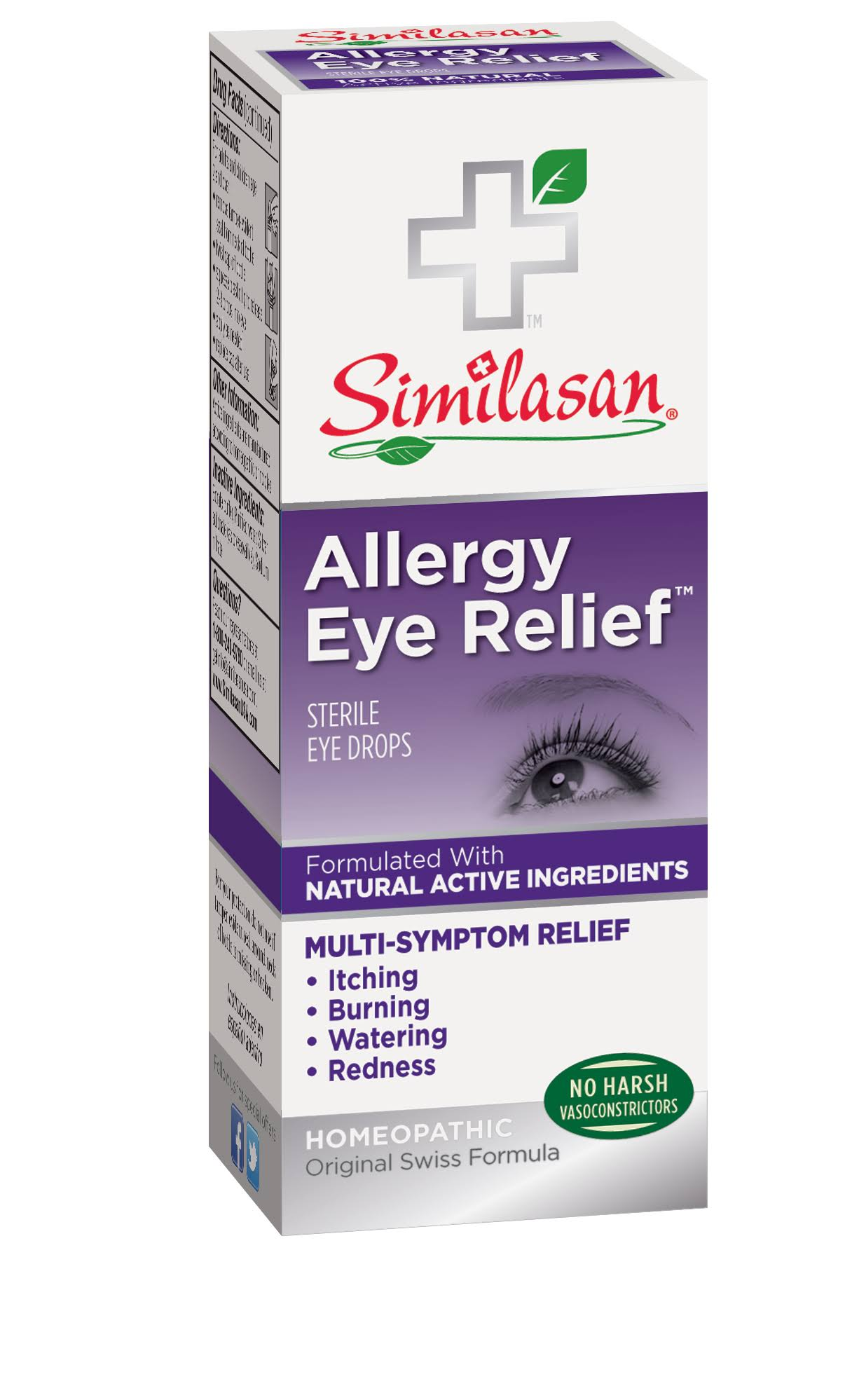 Similasan Allergy Eye Relief Sterile Eye Drops - 0.33oz