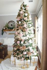 Raz Gold Christmas Trees by Pink And Gold Floral Christmas Tree Christmas Tree Christmas