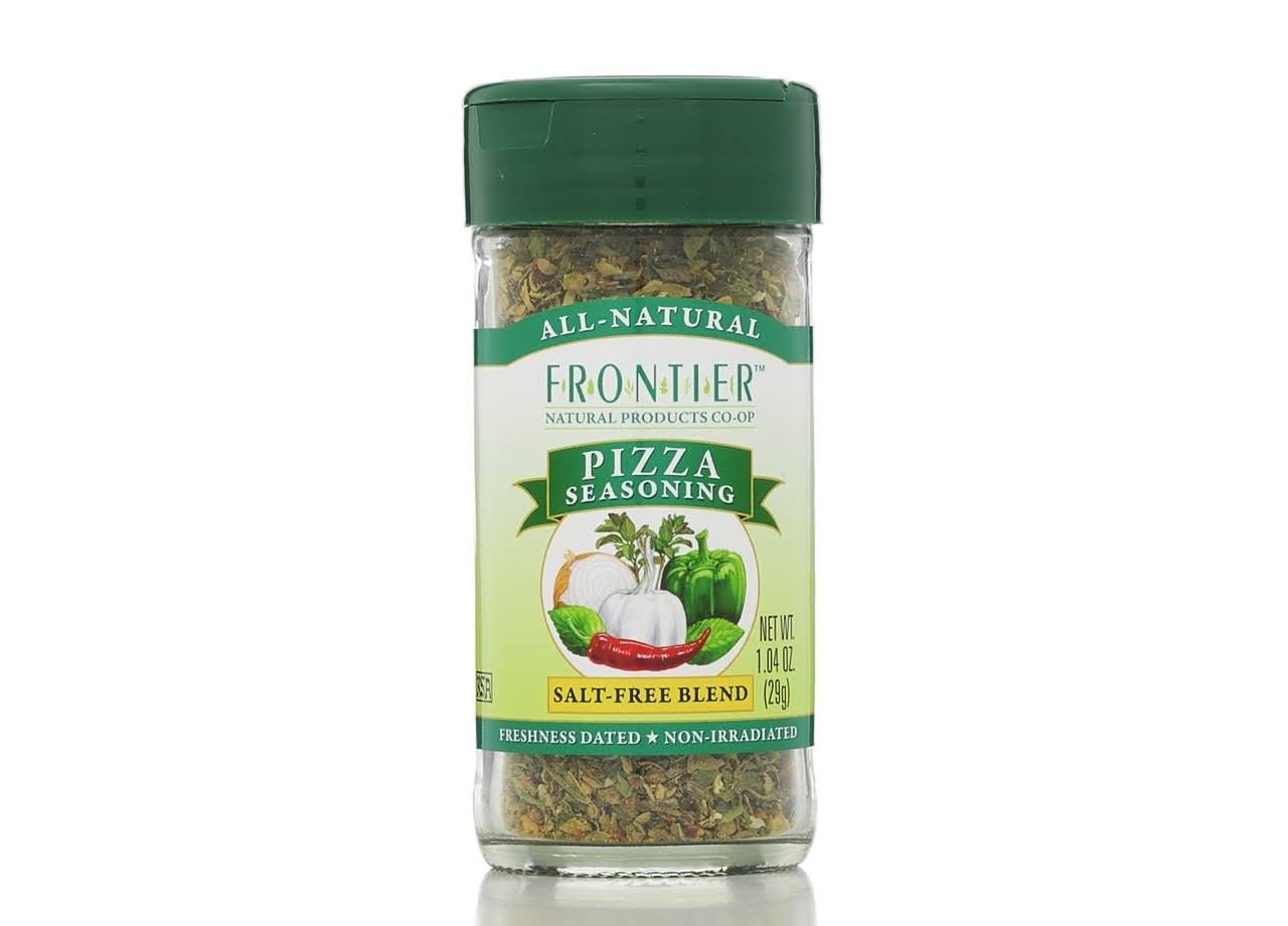 Frontier Natural Products Pizza Salt Free Seasoning - 1.04 oz