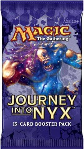 Magic The Gathering Journey Into Nyx Booster Pack - x15