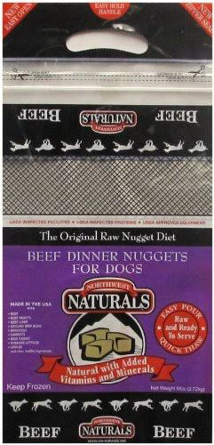 Northwest Naturals Raw Frozen Dog Food - Beef Nuggets