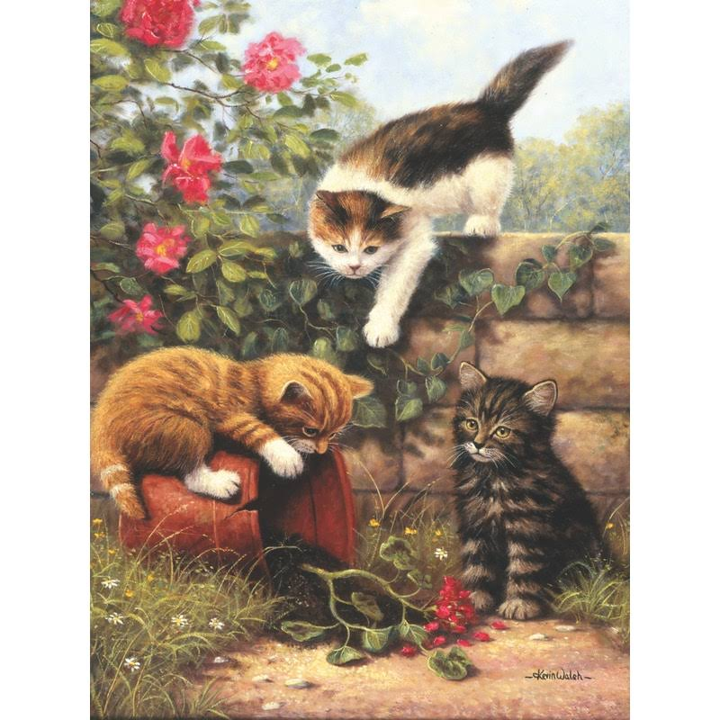Royal & Langnickel Painting By Numbers Junior Small Art Activity Kit - Kittens at Play