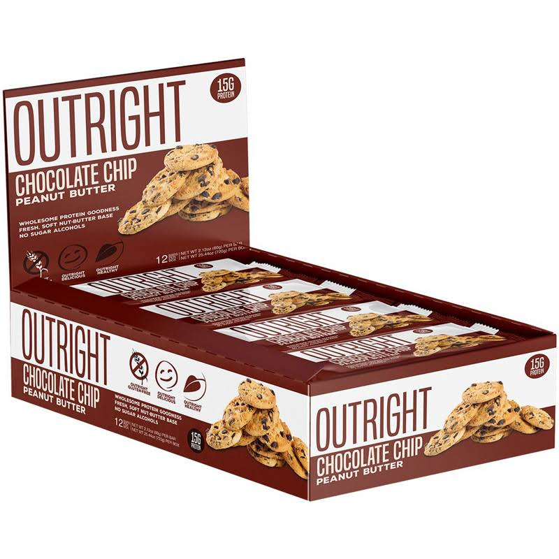 Outright Bar | 12 Pack - Peanut Butter Oatmeal Chocolate Chip