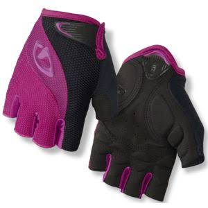 Giro Women's Tessa Cycling Gloves - Black and Berry, Large