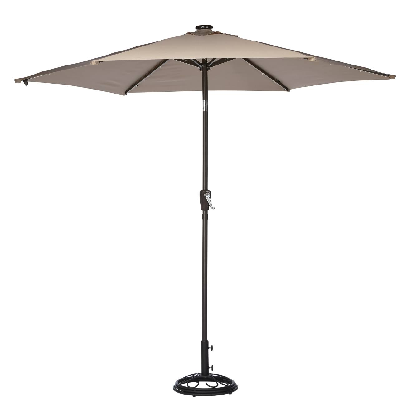 Living Accents Market Solar Umbrella - 9'