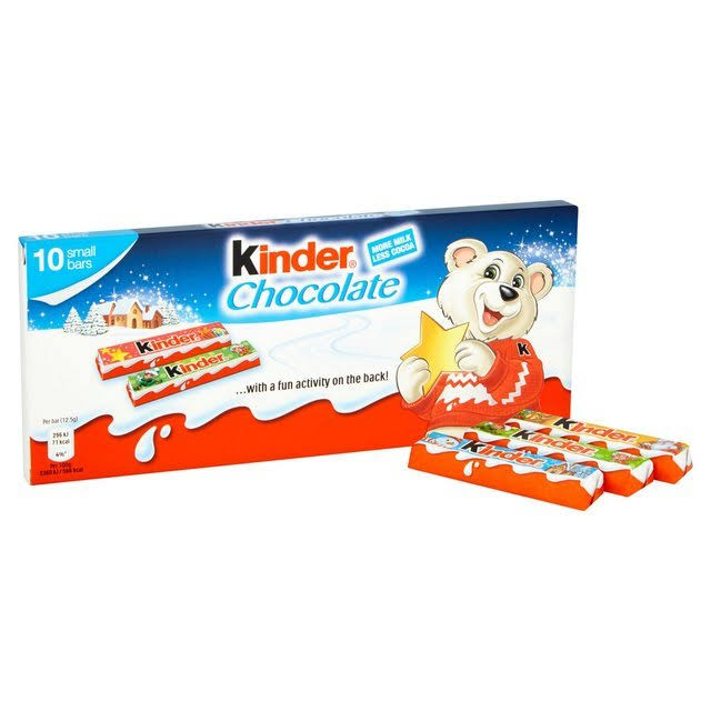 Kinder Milk Chocolate Bar - 12.5g