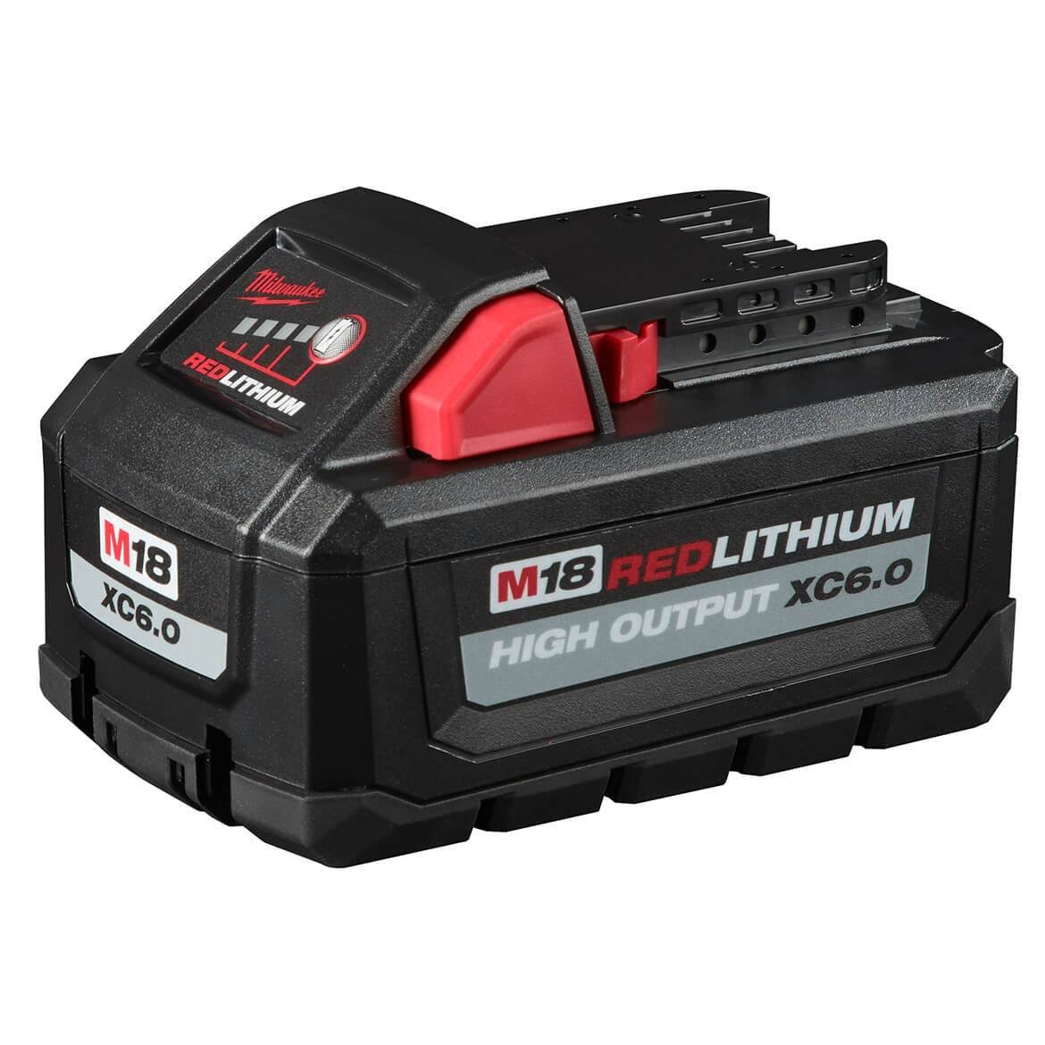 Milwaukee 48-11-1865 M18 Redlithium High Output XC6.0 Battery Pack