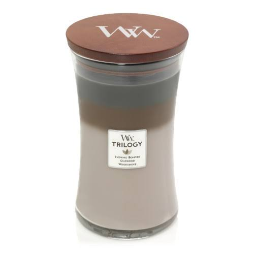WoodWick Cozy Cabin Trilogy Large Hourglass Candle