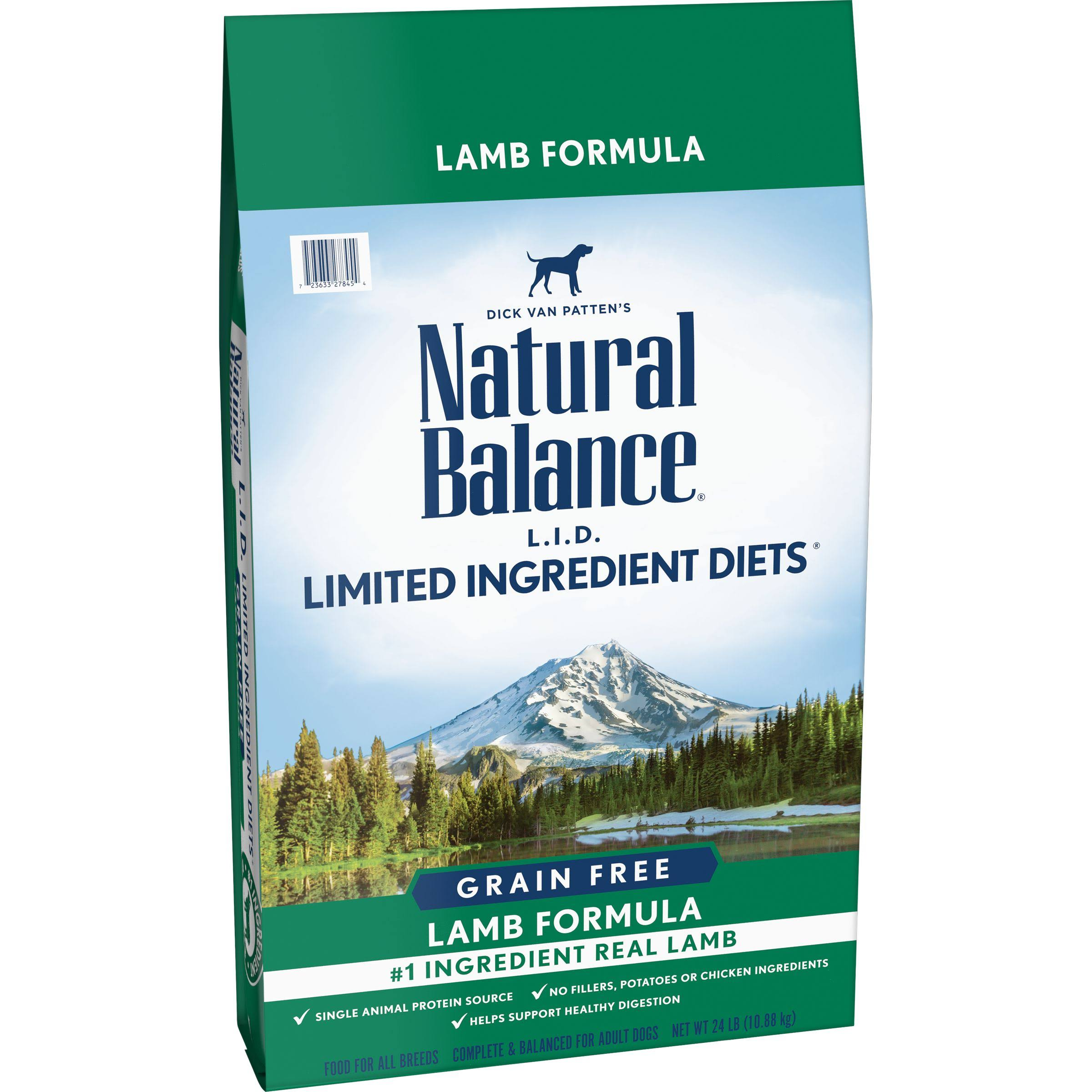 Natural Balance Limited Ingredient Diets High Protein Dry Dog Food - 24lbs