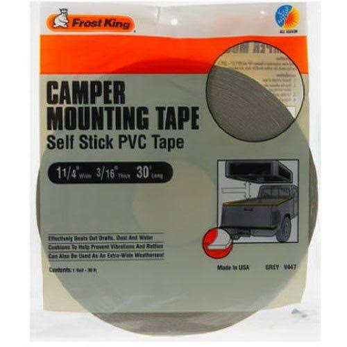 "Frost King V447H Camper Mounting Tape - Grey, 1-1/4"" x 3/16"" x 30'"