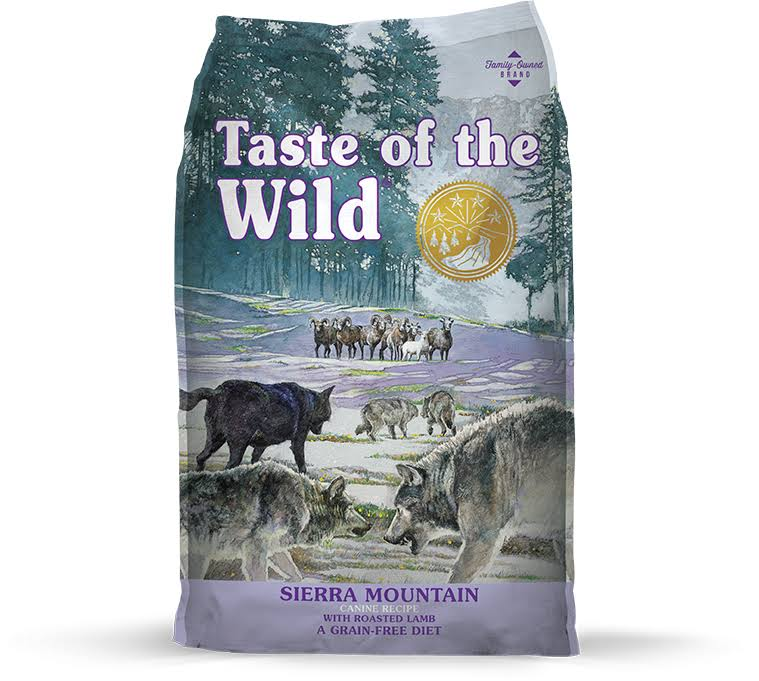 Taste of The Wild Dog Food, Sierra Mountain, 5-Lbs.
