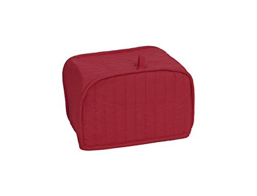 Ritz Quilted Four Slice Toaster Appliance Cover, Paprika