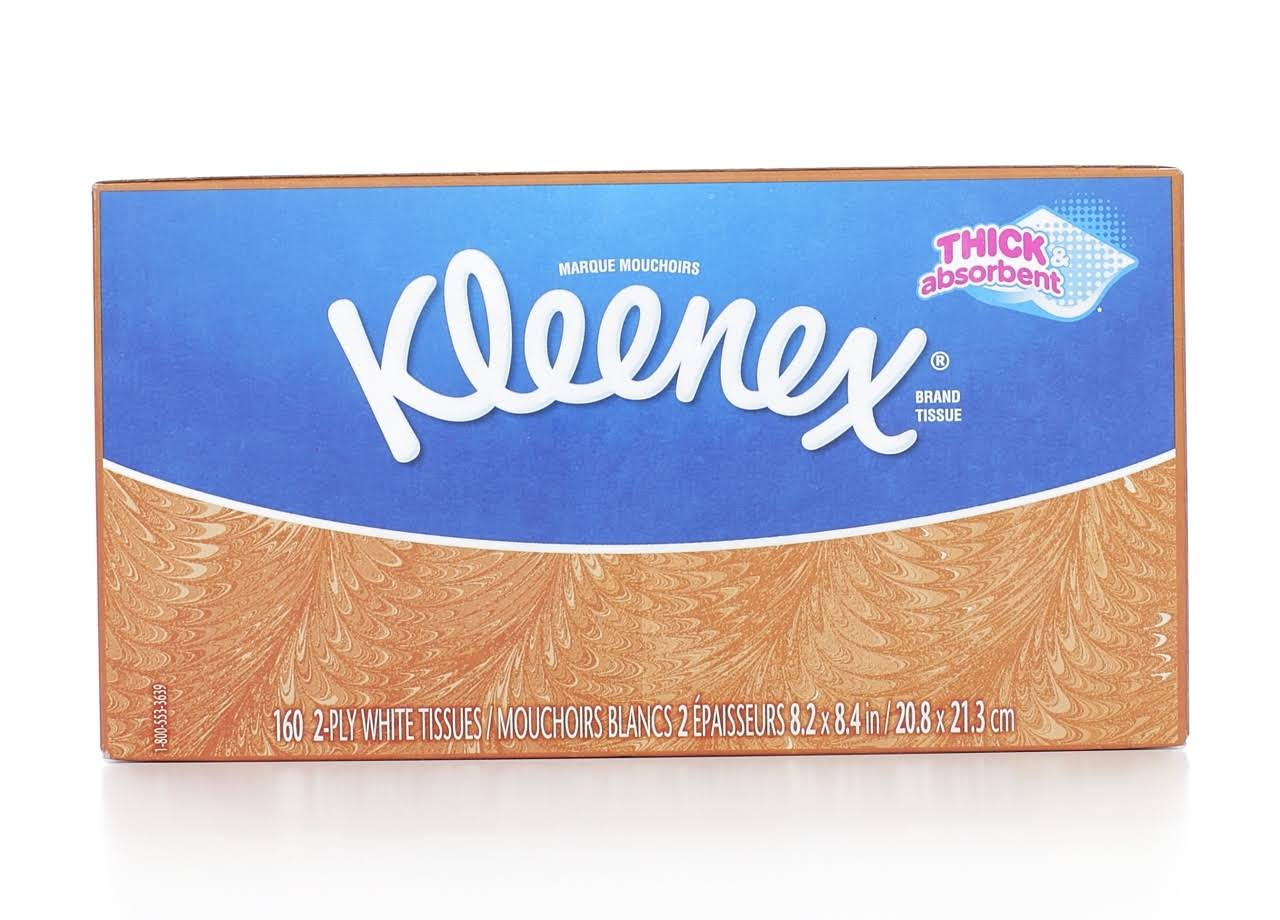 Kleenex Everyday Facial Tissues - 160 count