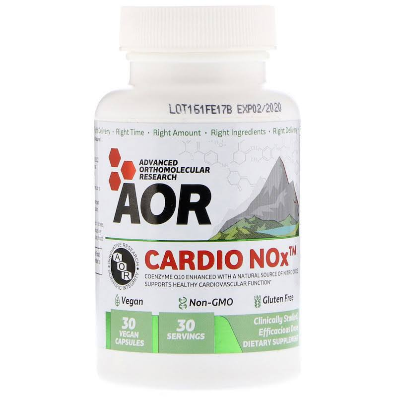 Advanced Orthomolecular Research - Cardio Nox - 30 Vegan Capsules