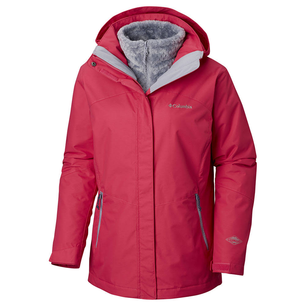 Columbia Women's Bugaboo II Fleece Interchange Jacket - S - Pink