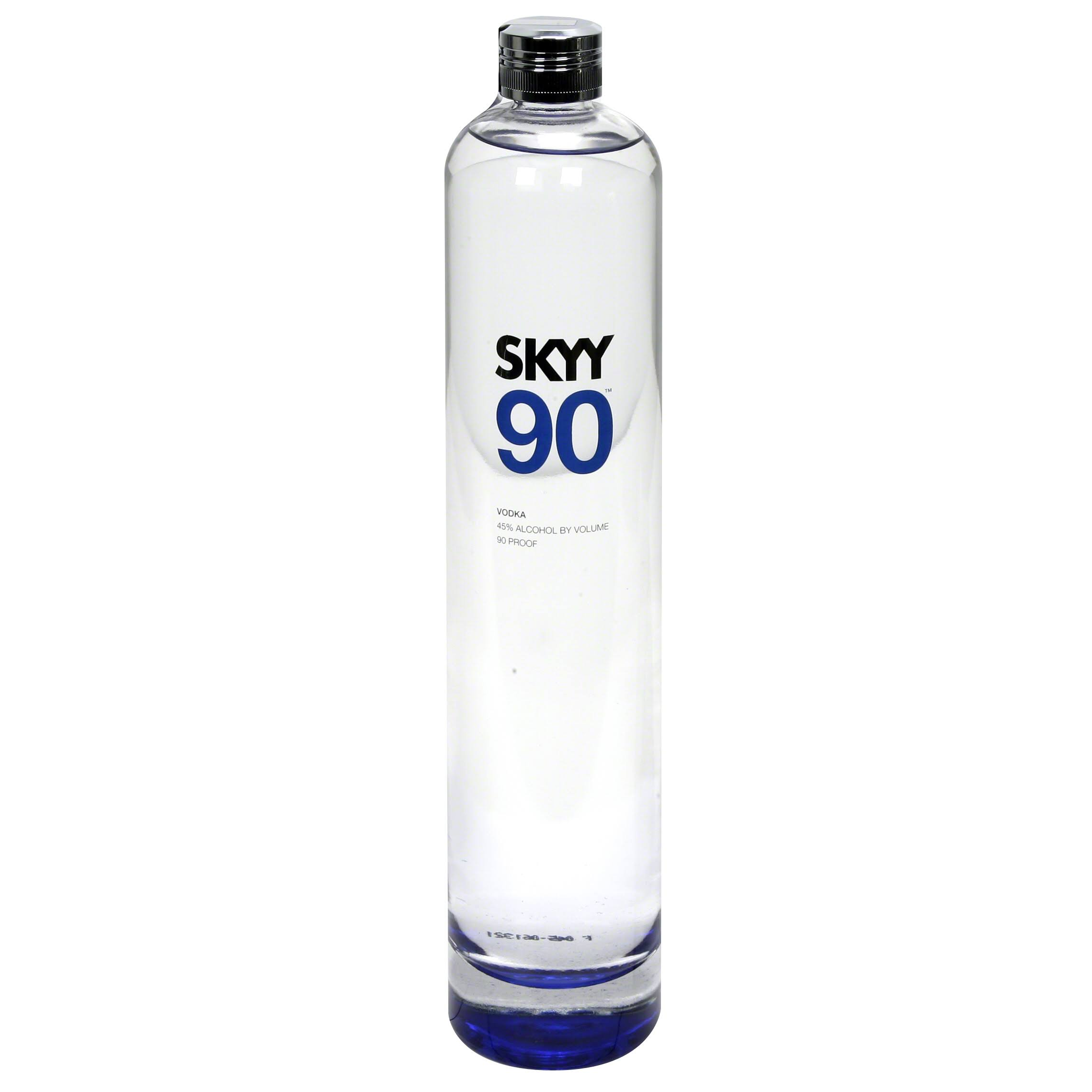 Skyy 90 Vodka - 750 ml