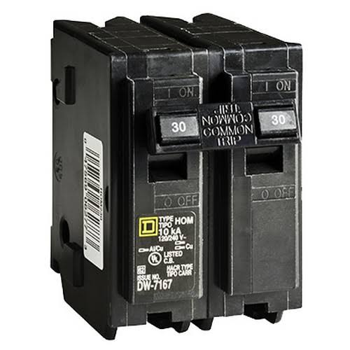 Square D Homeline Circuit Breaker - 30A, 2 Pole