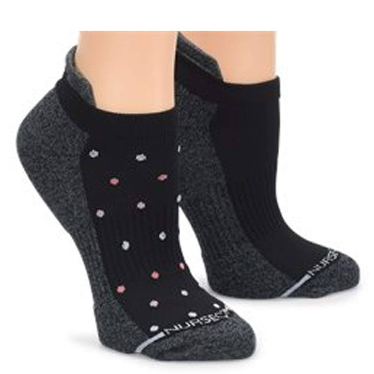 Nurse Mates Compression Anklet Socks - 2-Pack