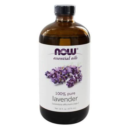 Now 100% Pure Lavender Essencial Oil - 473ml