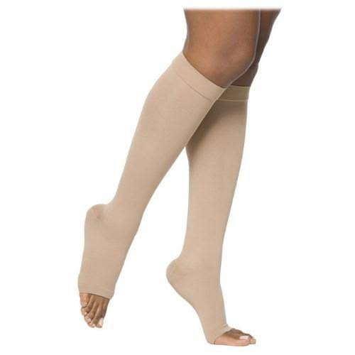 Sigvaris 862 Select Comfort Open Toe Knee Highs - 20-30mmhg