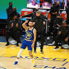 NBA Twitter reacts to Steph Curry's ridiculous underhand trick shot ...
