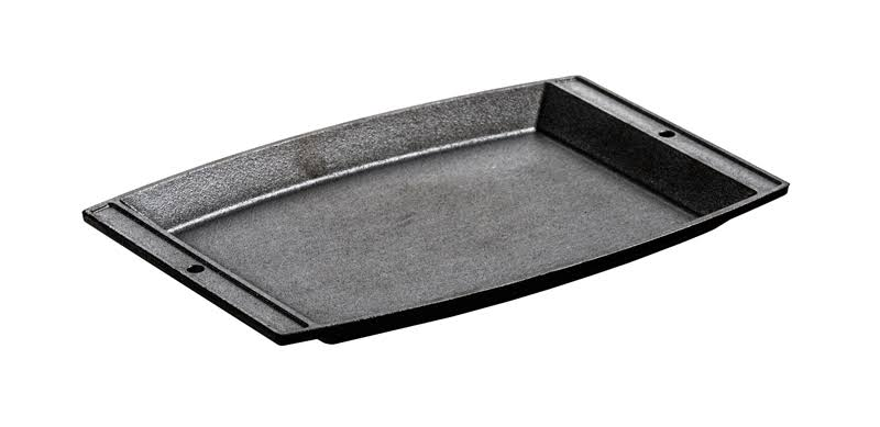 Lodge Sizzlin Cast Iron Chefs Platter - Black, 7 3/4""