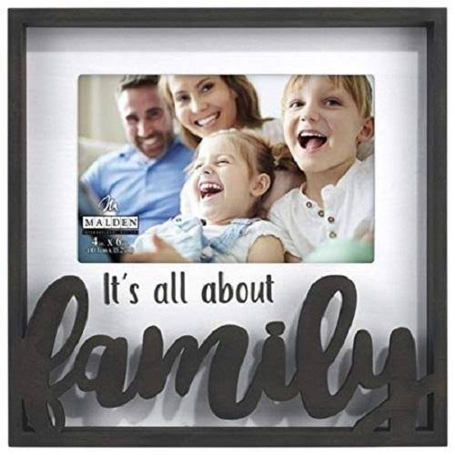 Malden 4x6 Family Laser Cut Frame