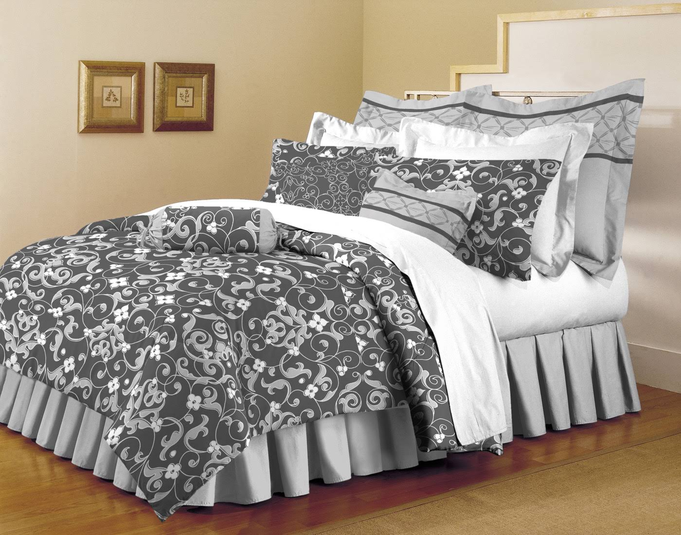 Home Dynamix Classic Trends Collection Abigail 5-Piece Comforter Set King