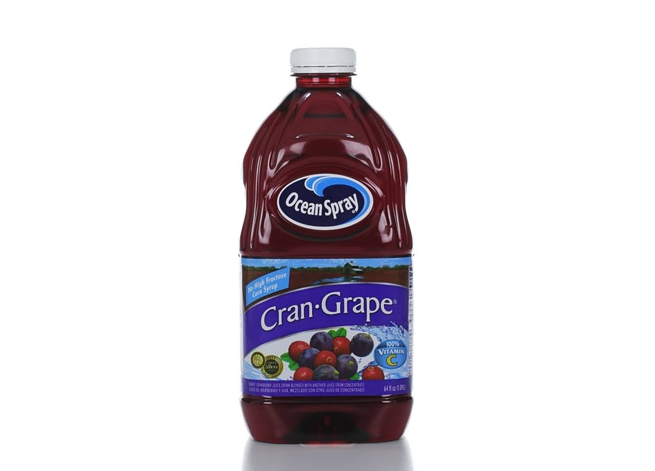 Ocean Spray Cran-Grape Grape Cranberry Juice Drink - 64 oz
