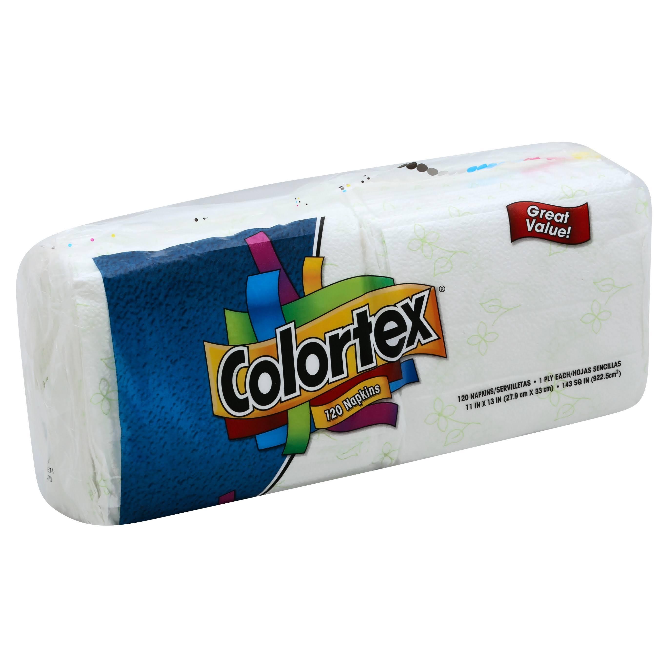 Colortex Paper Napkins - 120ct