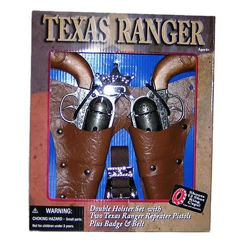 Parris Mfg. Texas Ranger Double-Holster Toy Shooter