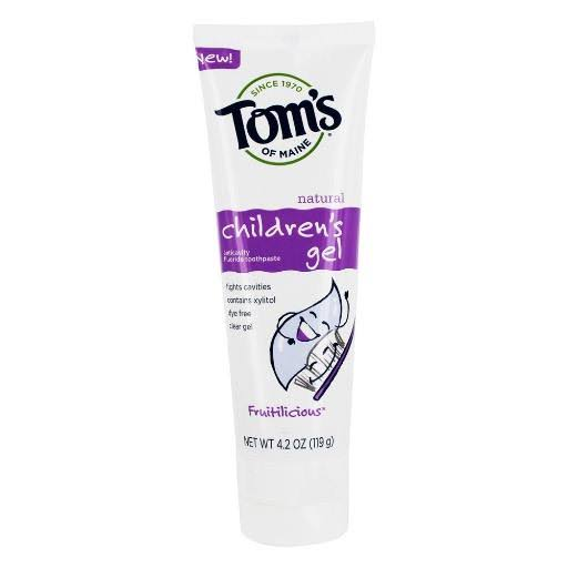 Tom's of Maine Fruitilicious Gel Natural Kids Toothpaste