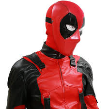 New Slipknot Halloween Masks by Deadpool Mask For Sale X Men Cosplay Cool Deadpool Red Pvc Half