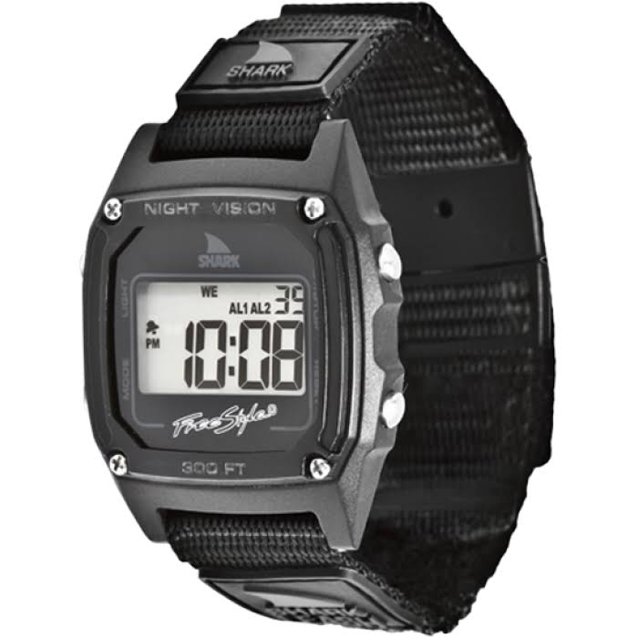 Freestyle Shark Clip Watch - Black