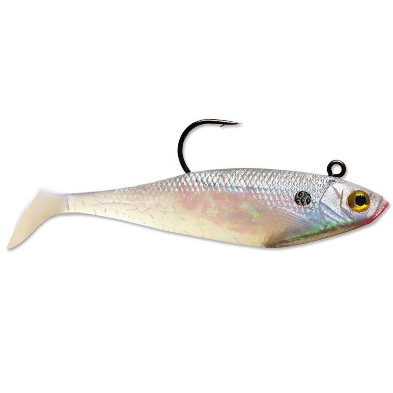 "Storm Wildeye 4"" Pearl Swim Shad Fishing Lure Bait - 4"""