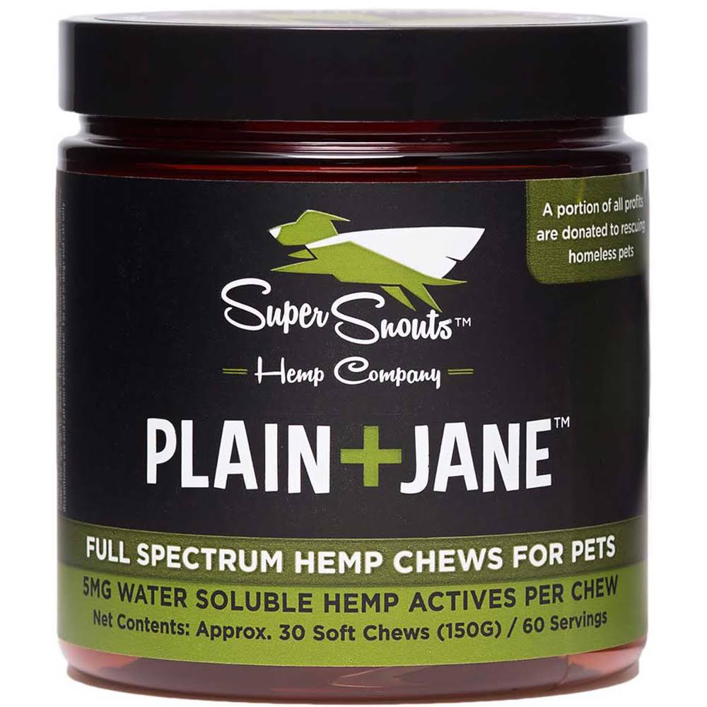 Super Snouts Plain Jane Soft Chews 30ct