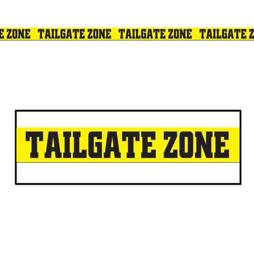 Beistle Company Tailgate Zone Party Tape Party Accessory